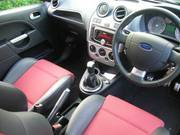 Ford Fiest ST 08. All extras,  Black,  Silver Stripes,  Uncommon vehicle